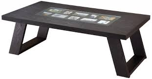 modern black end table modern black coffee tables chic and modern black coffee table