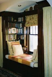 Cozy Home Library Interior Idea  Interiors Nook And House - Cozy home furniture ottawa