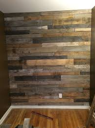 wood pieces for walls pallet wood feature wall how to build rawhyde furnishings