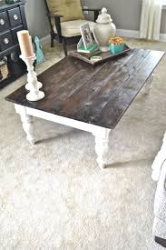 White Wash Coffee Table - whitewashed coffee and end tables