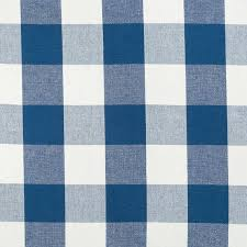 Plaid Curtain Material Navy Blue Plaid Upholstery Fabric By The Yard Large Scale Plaid