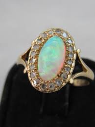 turquoise opal engagement rings rambling rose estate and vintage engagement rings in orange
