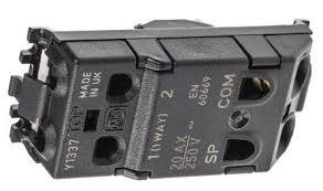 k4898el whi white 20 a mk white key operated light switch 2 way