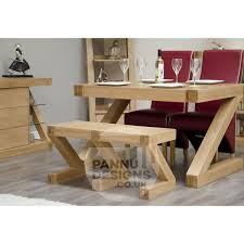 z designer oak small dining room bench pannu furniture designs ltd