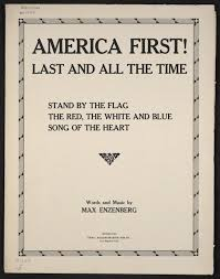 Flag Distributors Stand By The Flag America First Last And All The Time Library