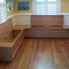 Build Corner Storage Bench Seat by Make Your Own Bench Seat And Save Space In Your Kitchen My