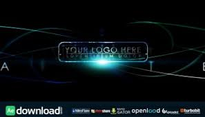 city lights logo after effect project videohive free after