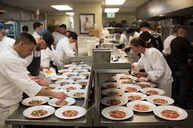 chef of cuisine six notable chefs one chef tour dinner on april