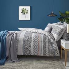 charcoal bedding kintyre stripe bedding set in charcoal terrys fabrics uk