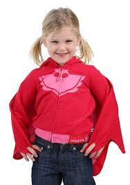 owlette toddler girls costume hooded sweatshirt pj masks