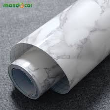 self adhesive 3m 5m 10m marble waterproof vinyl self adhesive wallpaper modern