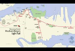 hudson bergen light rail map e2d heritage site