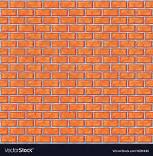 brick walls orange brick wall background royalty free vector image