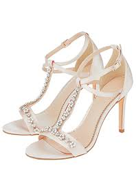 wedding shoes online uk monsoon bridal shoes white embellished shoes