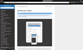 html themes sphinx html modifying content width of the sphinx theme read the docs