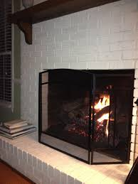 how to paint a fireplace white home decor color trends wonderful