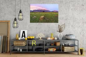 timpanogos farm rogue aurora photography mount timpanogos sunset landscape art print on metal