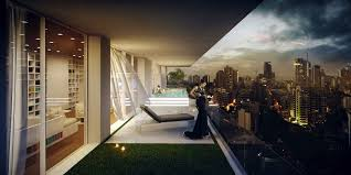 Penthouse Design 3d Visualization Penthouse Architectural Visualization Studio
