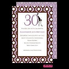 30th birthday invite wording a birthday cake
