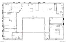 plan de maison gratuit 4 chambres cuisine plan maison en u plan maison gratuit 4 chambres plan