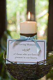 memorial candle best 25 memory candle wedding ideas on memorial
