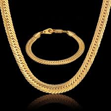 mens jewelry necklace chain images Dubai jewelry sets men jewelry 8mm hiphop gold color african big jpg