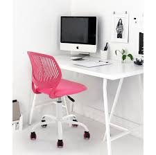 Desk Chair Amazon Com Pink Office Task Adjustable Desk Chair Mid Back Home