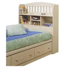 childrens bed with bookcase headboard 14876