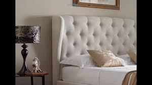 Upholstered Ottoman Storage Bed by Symphony Upholstered Winged Ottoman Storage Bed Natural Youtube