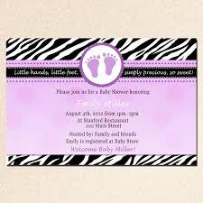 cheetah print baby shower invitations wblqual com