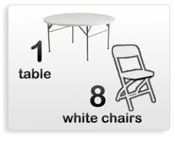 table chairs rental table chair rentals sky high party rentals