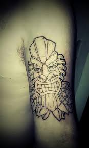 tiki mask tattoo by rojas199 on deviantart