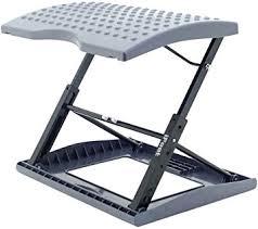 foot elevation under desk amazon com adjustable footrest for home office or under desk