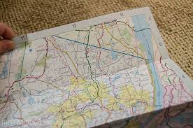 paper maps map paper tutorial unoriginal