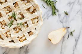Coco Kelley Recipe Rosemary Pear Pie Coco Kelley Coco Kelley