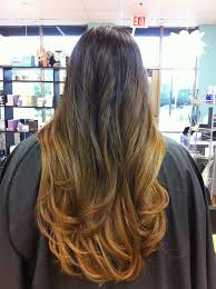 angel remy hair extensions wow dip dye ombre balayage 2 brown into coffee brown