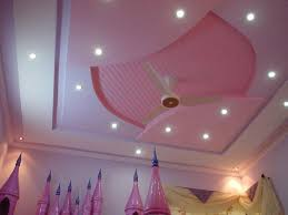 Pink Ceiling Fans by Pop Ceiling Design With Pink Ceiling Fan And Color For Girls
