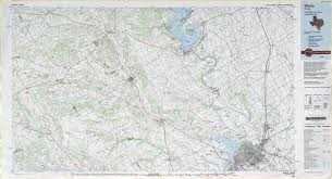 waco map topographic maps perry castañeda map collection ut