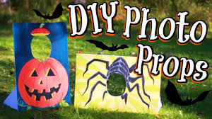 diy halloween photo booth props youtube
