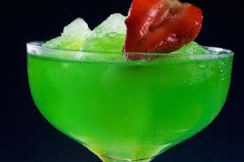 the berry bliss an easy vodka and midori punch recipe
