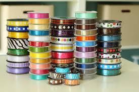 ribbon spools ribbon storage drawer
