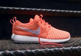 rosha runs nike flyknit roshe run hot lava sneaker bar detroit