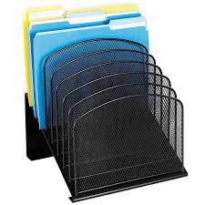 Organizer Desk Safco Steel Mesh 8 Section Desk Organizer 11 1 4 Inch X 10 7 8