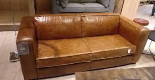 canape cuir maison du monde test du canapé convertible berlin de maisons du monde avis