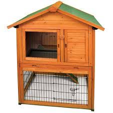 Rabbit Hutch With Large Run Amazon Com Ware Manufacturing Premium Plus Bunny Barn For