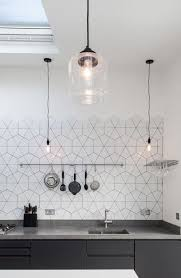 Black And White Tile Kitchen Backsplash by Top 25 Best Modern Kitchen Backsplash Ideas On Pinterest