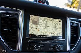 Porsche Cayenne Navigation System - porsche macan s luxury suv rental in los angeles and surrounding