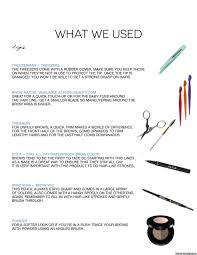 hue series this brow chart will change your life huffpost
