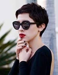 how to cut pixie cuts for thick hair 2015 curly pixie hair pinteres