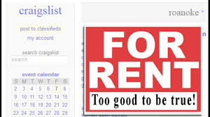 Flag Craigslist Post Scammers Copy For Rent Ads On Craigslist Org Re Post With